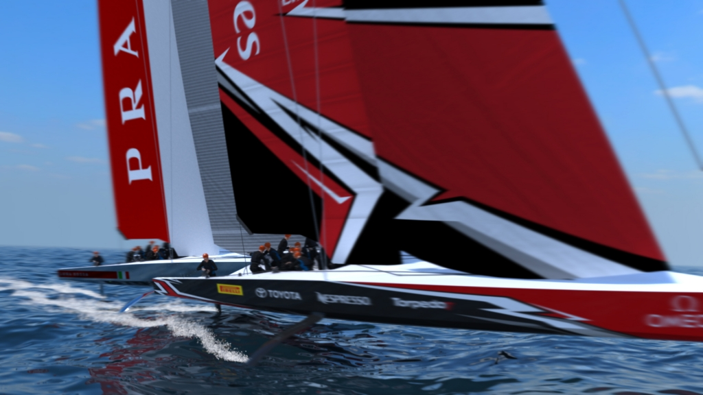 THE AMERICA\'S CUP CLASS AC75 BOAT CONCEPT REVEALED - 36th America\'s ...