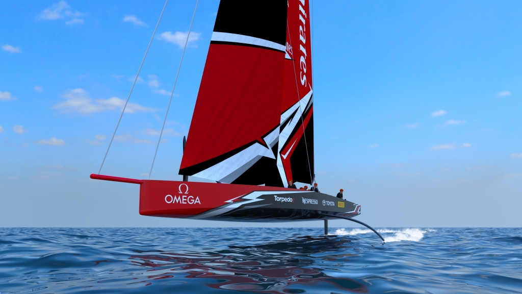 THE AMERICA'S CUP CLASS AC75 BOAT CONCEPT REVEALED - 36th America's Cup presented by PRADA